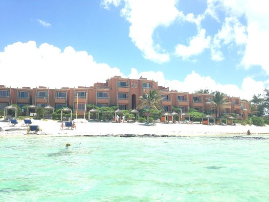 La Palmeraie Hotel : View from the ocean