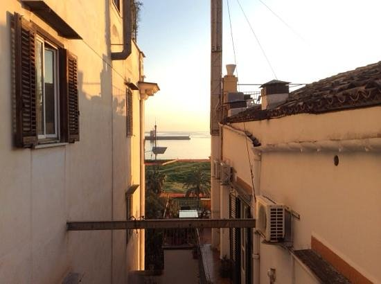 Butera 28: view from bathroom