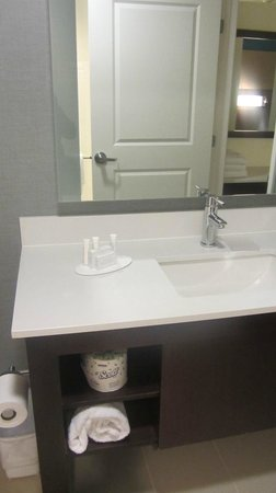 Residence Inn Des Moines Downtown: bathroom counter