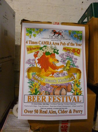 The Red Lion: Real Ale Festival