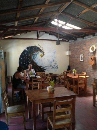 Cafe Campestre: Indoors sitting area