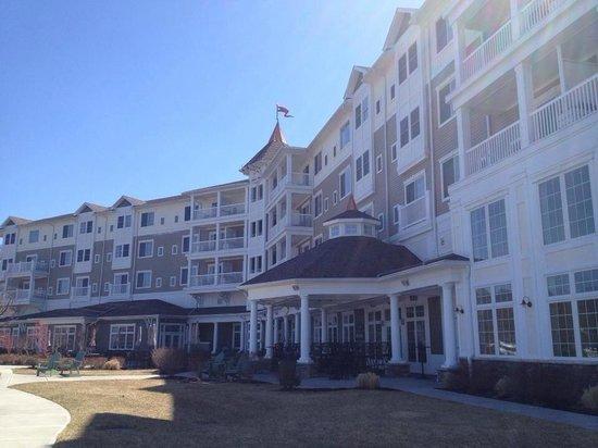 Watkins Glen Harbor Hotel: Hotel