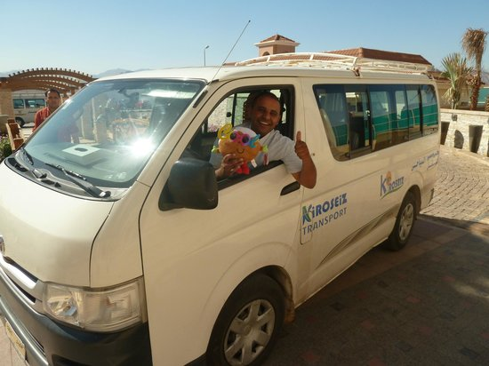 Xperience Sea Breeze Resort: HOTEL DRIVER WITH OUR TRAVEL COMPANION(COLIN)