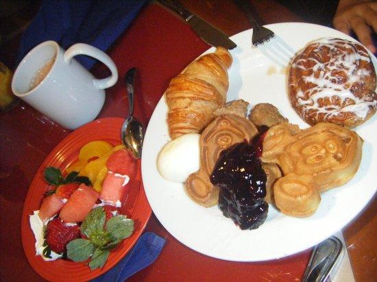 Chef Mickey's: Petit déjeuner