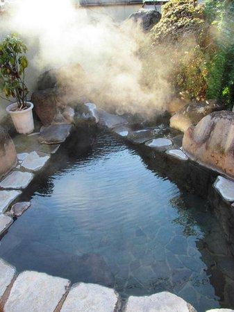 Saito Ryokan: Rotemburo (open air bath)