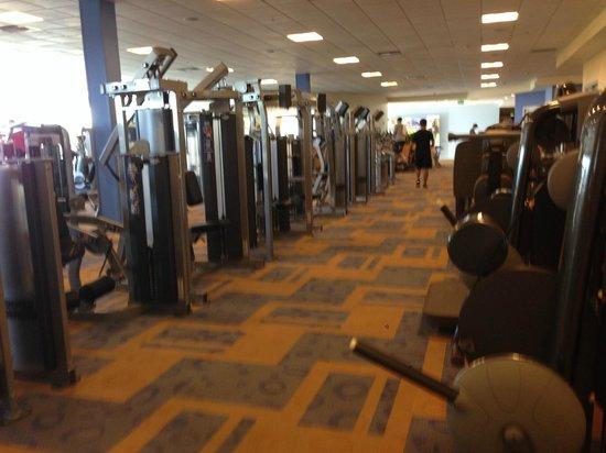 Renaissance ClubSport Aliso Viejo Laguna Beach Hotel: Gym