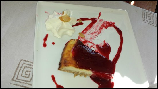 Les Embruns: cheese cake