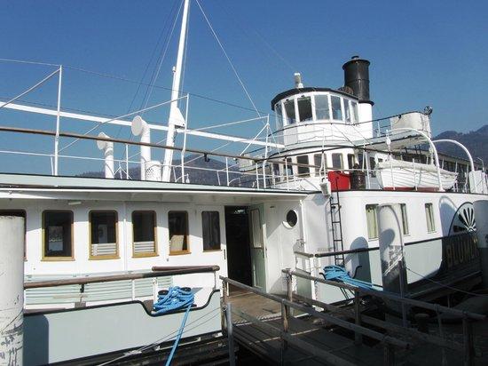 BLS Schifffahrt: Das Sonnendeck