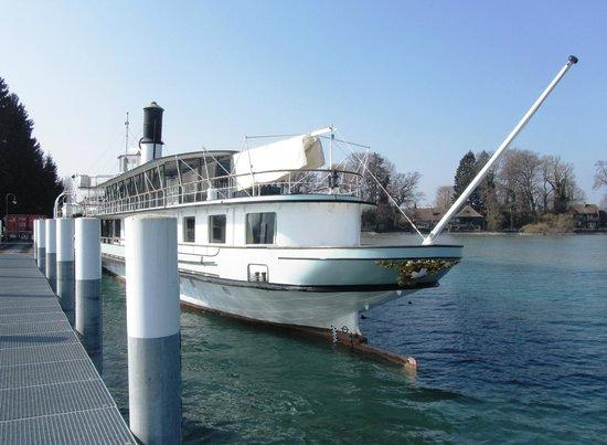 """BLS Schifffahrt: Dampfschiff """"Blümlisalp"""""""