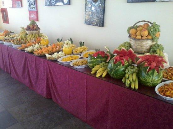 Orchidea Blu Hotel: Buffet di frutta