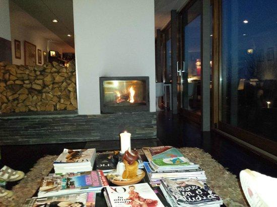 Hotel Rural 3 Cabos: Chimenea