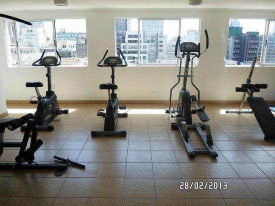 Serrano Centro: gym