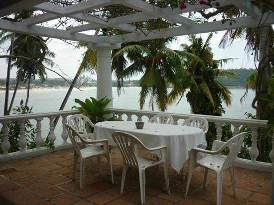Closenberg Hotel: terrasse