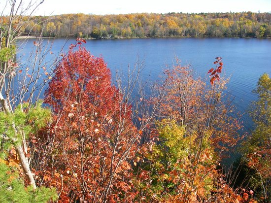 Charleston Lake Provincial Park: View from the Quiddity look-out