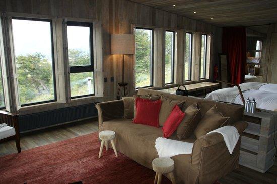 Awasi Patagonia - Relais & Chateaux: Interior bungalow