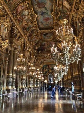 Opéra Garnier : maravilhoso