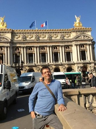 Opéra Garnier : curtindo