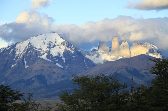 Awasi Patagonia - Relais & Chateaux: View from bungalow 2