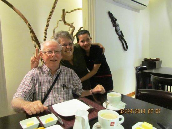 La Rose Boutique Hotel & Spa: The wonderful staff