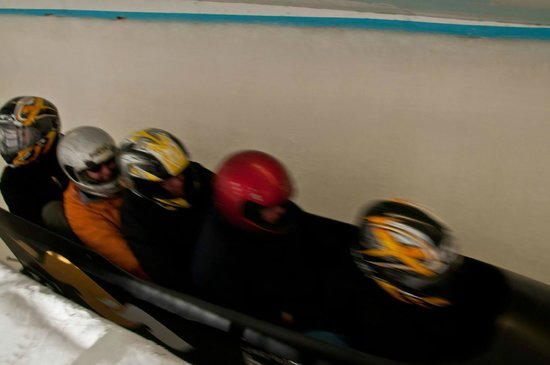 Bobsled and Luge Complex : On the run