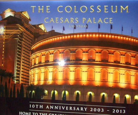 Celine Dion at the Colosseum at Caesars Palace : The Colosseum