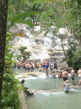 Dunn's River Falls and Park : Dunn River Falls , Ocho Rios , Jamaika