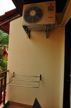 Sai Rougn Residence: air con