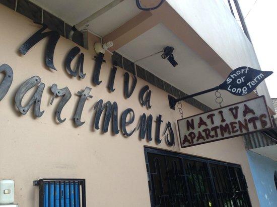 Nativa Apartments: Entrance to Nativa
