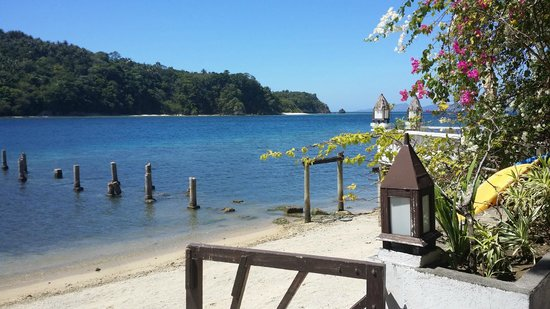 Buri Resort & Spa : Badebroen er lidt træt