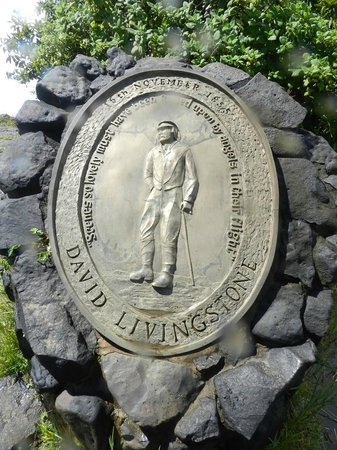 David Livingstone Memorial Plaque