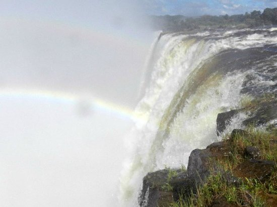 Livingstone, Zambiya: The Edge of The Rainbow