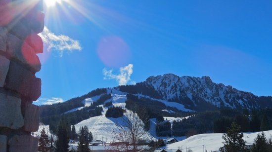 Berghotel Tirol: Ausblick