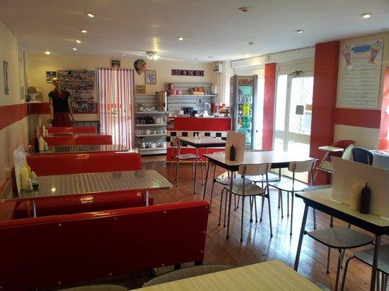 Millies American Diner: a bit of a shufflebit