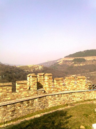 Fortaleza de Tsarevets: Wall