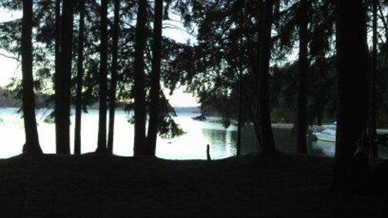 Bahia Manzano Resort: Los bosques y el lago-UNICO !!