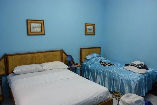 Hostal Jose y Kirenia: unser Schlafzimmer1
