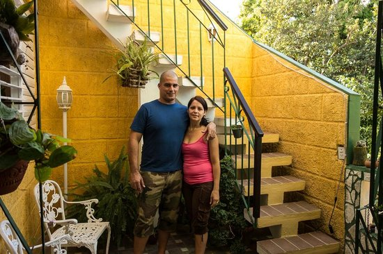 Hostal Jose y Kirenia: Jose und Kire