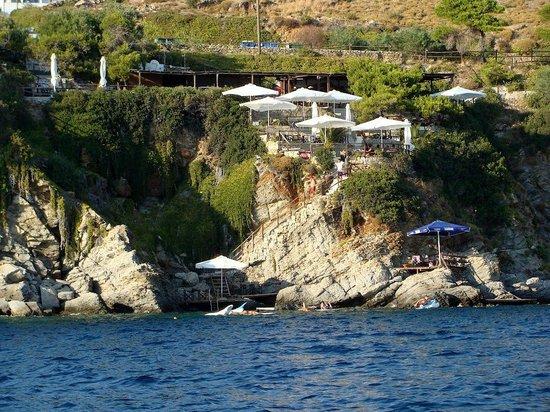 Σκύρος, Ελλάδα: Kavos cafe - Linaria Skyros