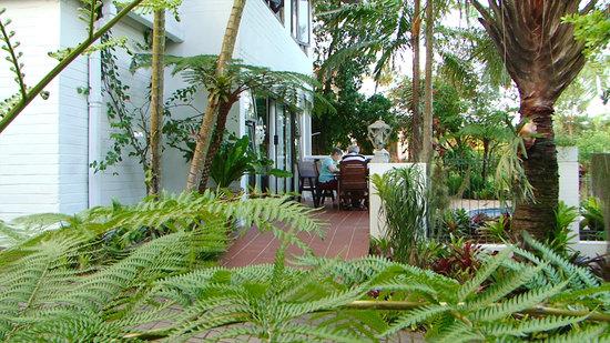 St. Lucia Wetlands Guesthouse: the garden