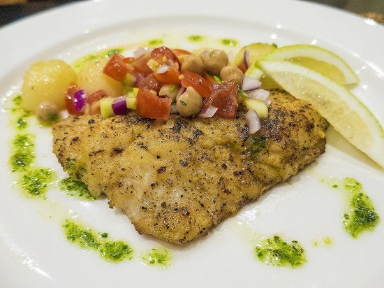 Oceana Beach and Wildlife Reserve : Dinner