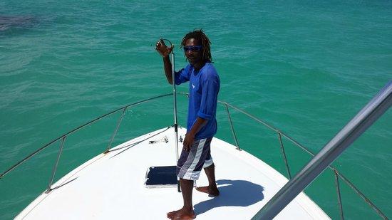 Paradisus Punta Cana Resort: Leo, Blue Sky Charter deep sea fishing