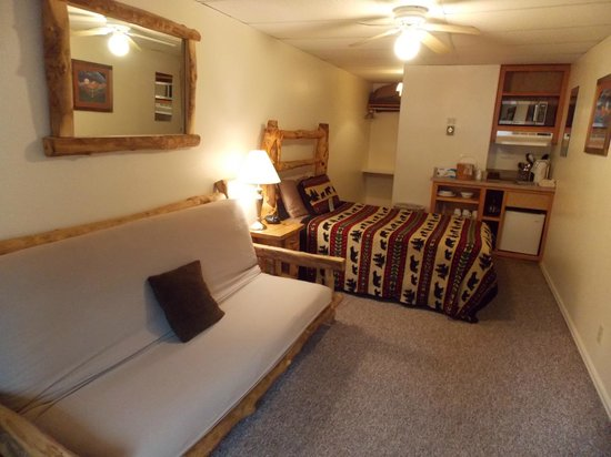 Ouray Riverside Inn and Cabins: Mini Suite