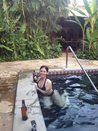 Hotel Casa Naranja: plunge pool in the patio