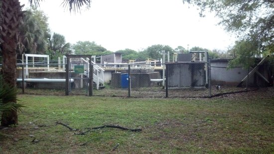 Ramblers Rest RV Campground: The camp sewage plant