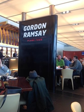 Gordon Ramsay Plane Food Restaurant: plane food