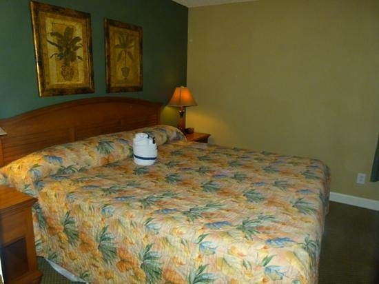 Ellington at Wachesaw Plantation East : king size bedroom in one bedroom