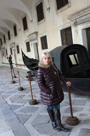 Palacio Ducal: gondola del doge