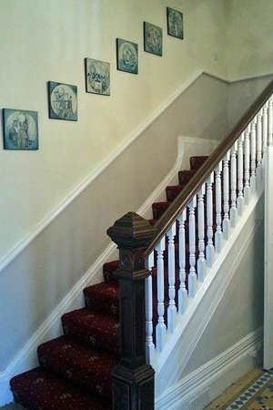 Torrs Hotel Ilfracombe: New stair carpet laid and pictures hung, prior to opening