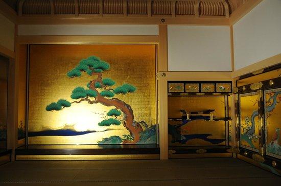 Nagoya Castle : 表書院上段之間 座敷飾り 床と違い棚