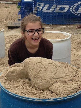 Sandcastle Lessons : La Tortuga